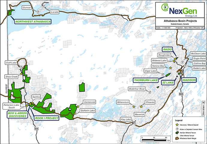 NexGen Drilling Reveals Massive Pitchblende