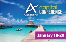AlphaNorth Capital Investment Conference JANUARY 18 – 20 2019
