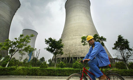 China's coal helps climate change
