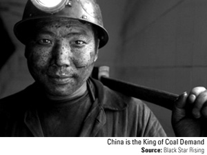 China's coal use