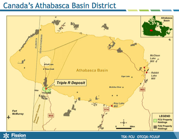 New Areas of High-Grade Uranium Mineralization Drilled in Athabasca Basin