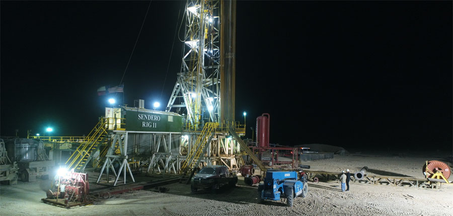 Oil & Gas Company Spuds Orogrande Basin Well to Test Geologic Theory